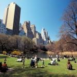 Центральный парк в Нью-Йорке
